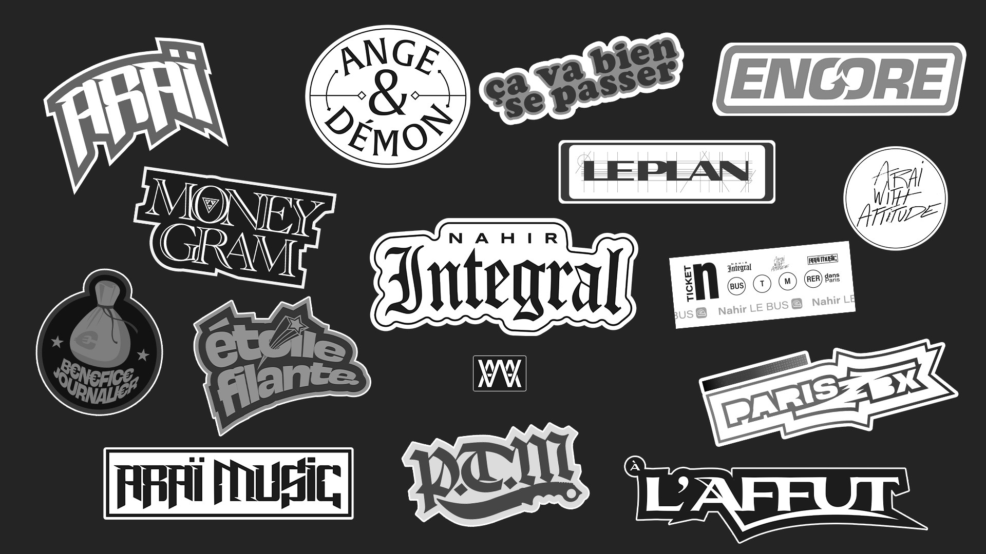 integral stickers